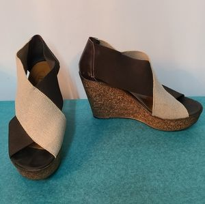 Browns Wedge Sandals